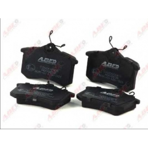 ABE C2W002ABE Комплект тормозных колодок, дисковый тормоз Ауди Оллроад