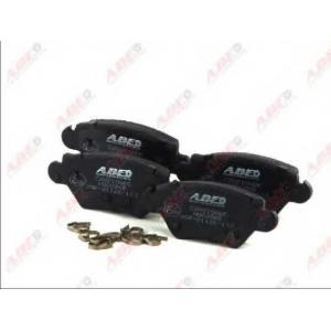 ABE C2X010ABE Гальмівні колодки, дискові