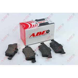 ABE C2X013ABE Комплект тормозных колодок, дисковый тормоз Мазда 3