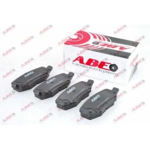 ABE C2Y013ABE Комплект тормозных колодок, дисковый тормоз Додж Нитро