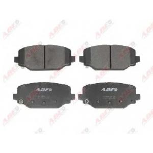 ABE C2Y027ABE Комплект тормозных колодок, дисковый тормоз Фиат Фримонт