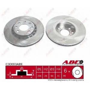 ABE C30003ABE Гальмівний диск