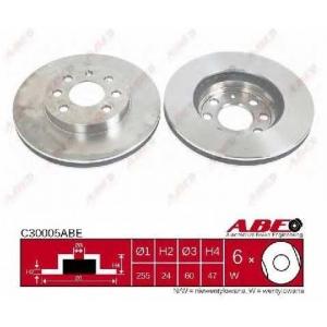 ABE C30005ABE Тормозной диск Шевроле Зафира