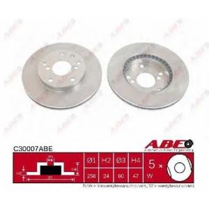 ABE C30007ABE Тормозной диск Дэу Леганза