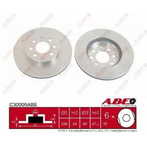 ABE C30009ABE Тормозной диск Дэу Нубира