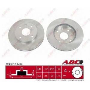 ABE C30011ABE Тормозной диск Дэу Еванда