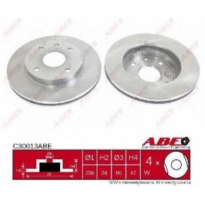 ABE C30013ABE Тормозной диск Дэу Нубира