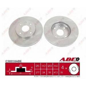 ABE C30018ABE Тормозной диск Шевроле Епика