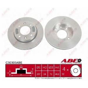 Тормозной диск c30303abe abe -