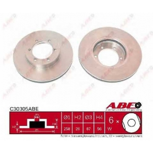 ABE C30305ABE Тормозной диск Киа Преджио