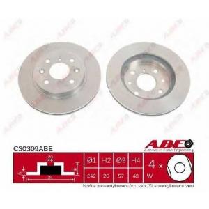 ABE C30309ABE Тормозной диск Киа Сефия