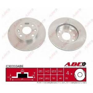 ABE C30310ABE C30310ABE Диск гальмівний ABE (шт.)
