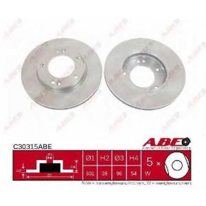 ABE C30315ABE Гальмівний диск