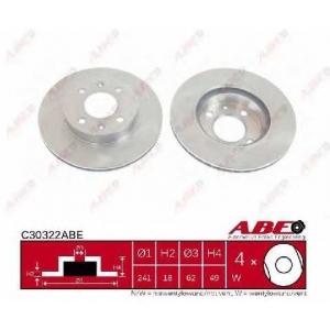 ABE C30322ABE Тормозной диск Киа Пиканто