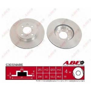 ABE C30324ABE Тормозной диск Хюндай Ай 20