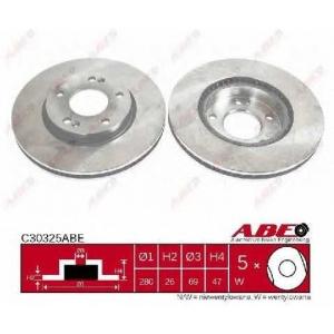 ABE C30325ABE Тормозной диск Хюндай Ай 30