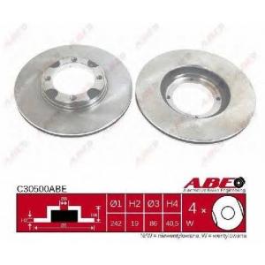 ABE C30500ABE Тормозной диск Хюндай Акцент
