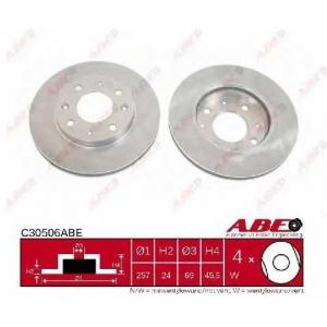 ABE C30506ABE Тормозной диск Хюндай Купе