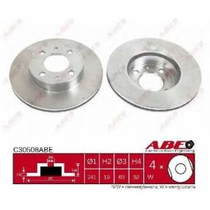 ABE C30508ABE Тормозной диск Хюндай Акцент