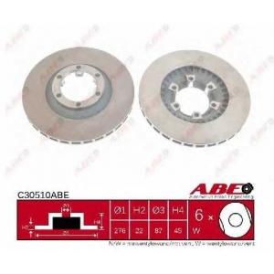 ABE C30510ABE Тормозной диск Хюндай Галлопер