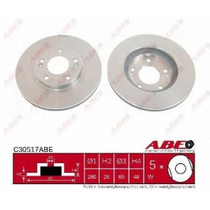 ABE C30517ABE Гальмівний диск