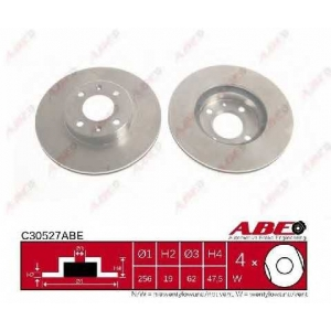 ABE C30527ABE Тормозной диск Хюндай Гетз