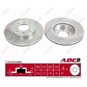 ABE C31056ABE Гальмівний диск