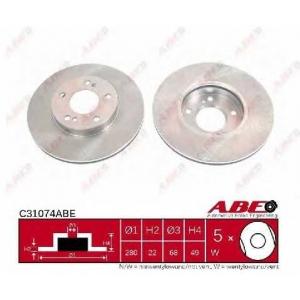 ABE C31074ABE Тормозной диск
