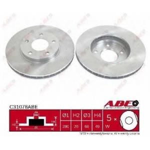 ABE C31078ABE Гальмівний диск