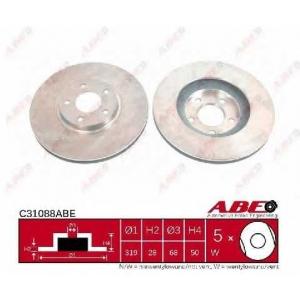 ABE C31088ABE Тормозной диск Инфинити Джи