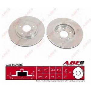 ABE C31102ABE Тормозной диск