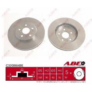 ABE C32088ABE Тормозной диск Лексус Лс
