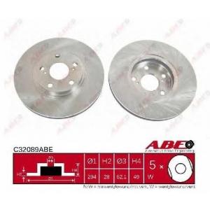 ABE C32089ABE Тормозной диск Лексус Р-Икс