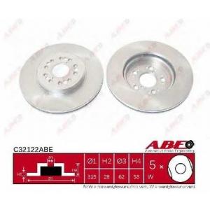 ABE C32122ABE Тормозной диск Лексус Лс