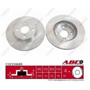 ABE C32134ABE Гальмівний диск