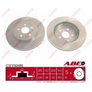 ABE C32150ABE Тормозной диск Лексус Р-Икс