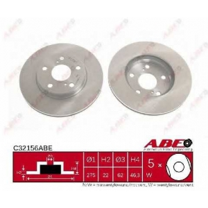 ABE C32156ABE Гальмівний диск