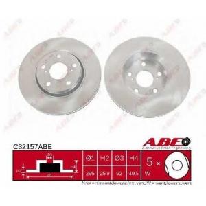 ABE C32157ABE Гальмівний диск