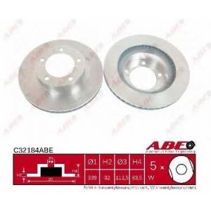 ABE C32184ABE Гальмівний диск