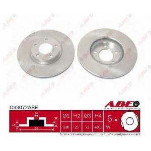 ABE C33072ABE Тормозной диск Мазда 3