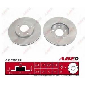 ABE C33075ABE Тормозной диск Мазда Трибут