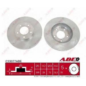 ABE C33077ABE Тормозной диск
