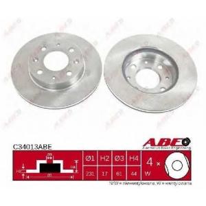 ABE C34013ABE Тормозной диск Хонда Црх