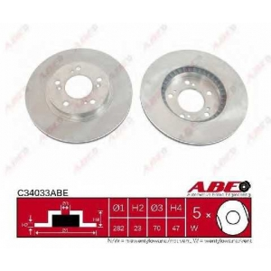 ABE C34033ABE Тормозной диск Хонда Црв