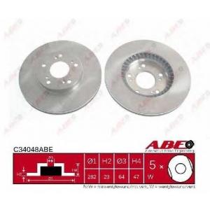 ABE C34048ABE Гальмівний диск