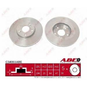 ABE C34061ABE Гальмівний диск