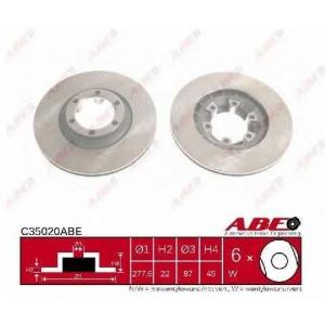 ABE C35020ABE Тормозной диск Хюндай Галлопер