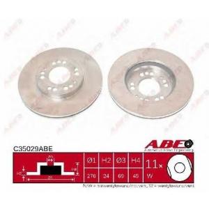 ABE C35029ABE Тормозной диск Митсубиси 3000 Джи-Ти