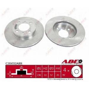 ABE C35032ABE Тормозной диск Митсубиси Карисма