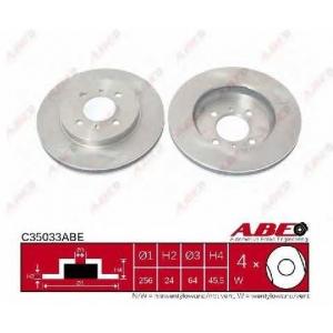 ABE C35033ABE Тормозной диск Митсубиси Кольт
